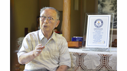 Mr. Shigemi HIrata Entered Guinness World Records as the Oldest University Graduate
