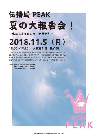 20181105peak報告会