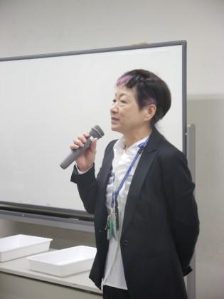 志賀公江先生