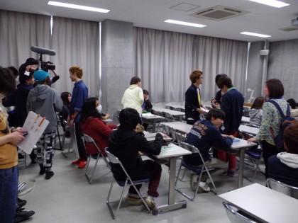 撮影 講義室