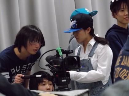 撮影 学生2