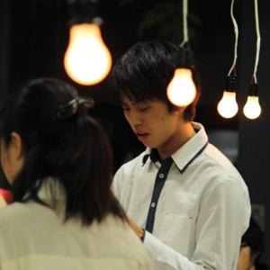 辻井悟志さん(舞台芸術学科1年)