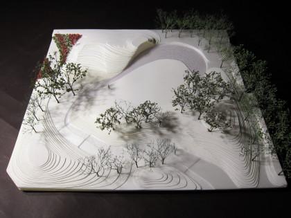 白石彩「Cozy Park」2