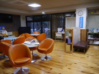 海士町中央公民館(開発センター)の和室を宿所として提供していただきました。