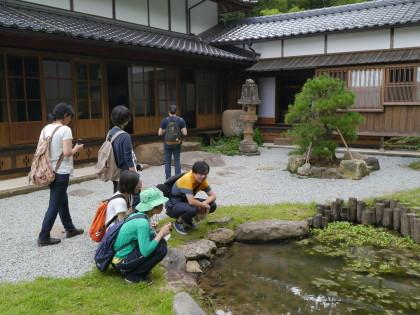 村上家の庭園