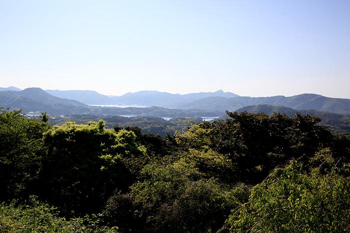 金光寺から見た海士町