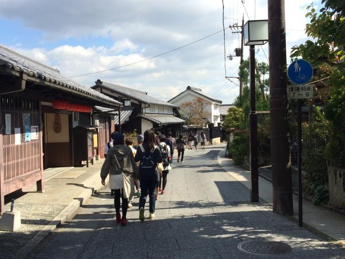 嵯峨鳥居本の町を歩く
