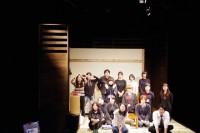座組一同揃った、唯一の集合写真です。セルフタイマーで撮りました