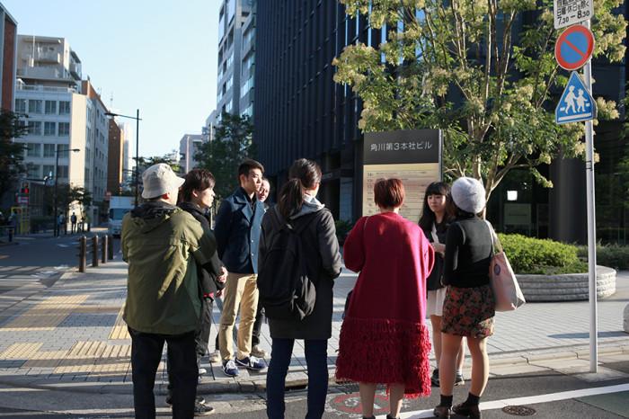 KADOKAWAに入社した卒業生の植田さんから話を聞きました。