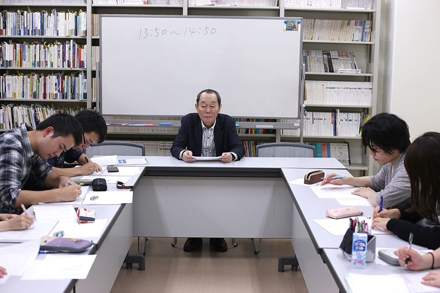 山田兼士先生のワークショップ