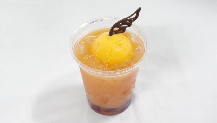 「飛べ!」烏野の炭酸弾けるオレンジジュース
