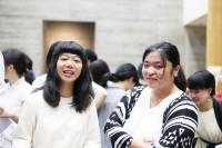 左から渡邉風子さん、中井美友さん。