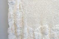 紙を織るW113cm×H42cm×D9cm (1)