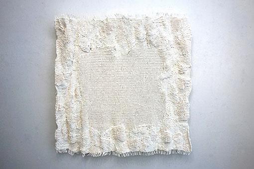 紙を織るW113cm×H42cm×D9cm (2)