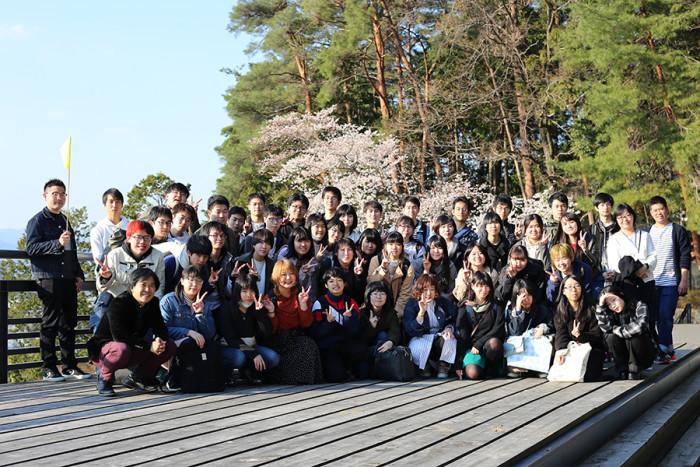 ツアーの最後には毎年恒例の集合写真撮影。