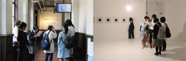 ニューミューテーション #2『世界のうつし』展 小松千倫と寺岡海による二人展です。