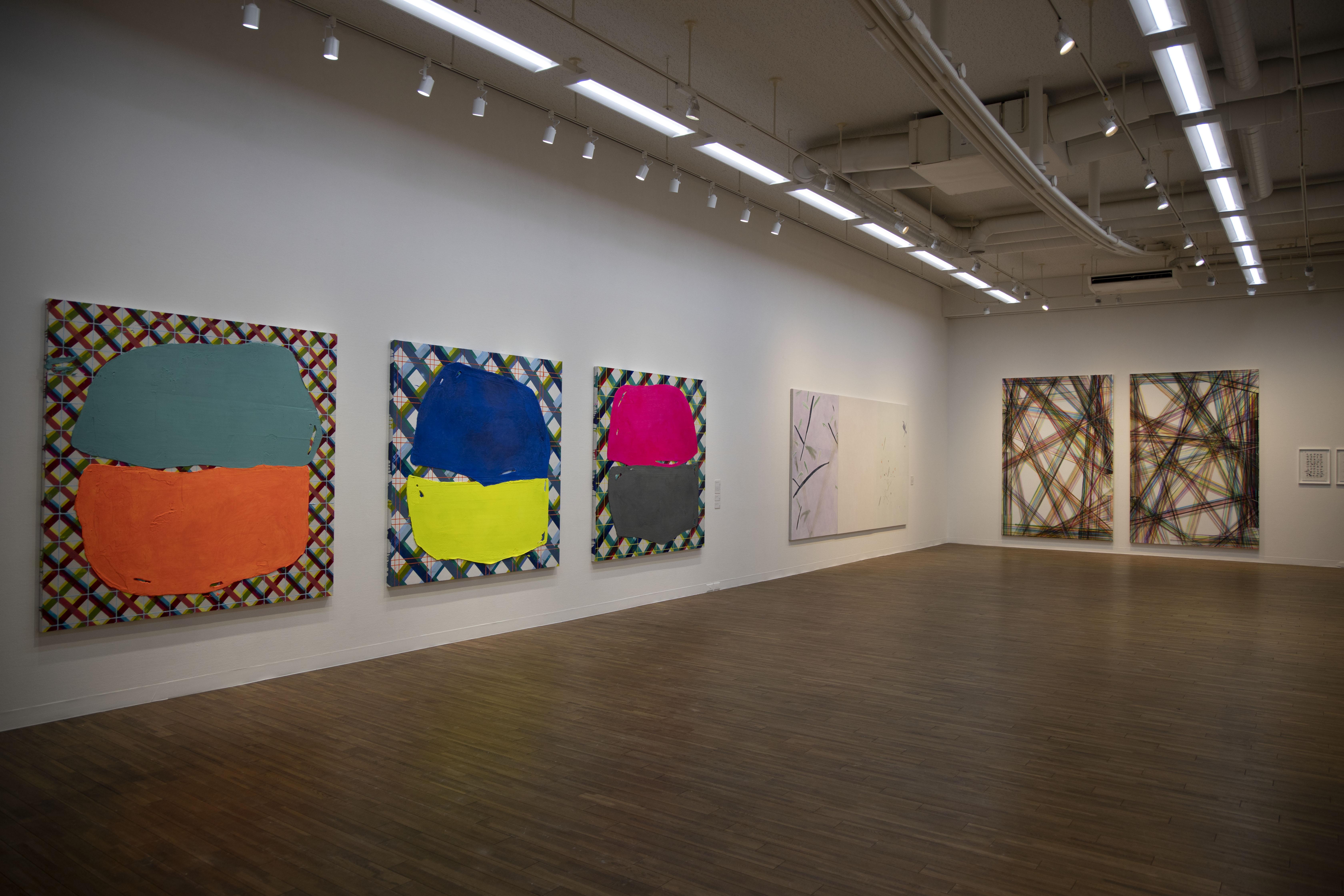 美術工芸領域展示風景