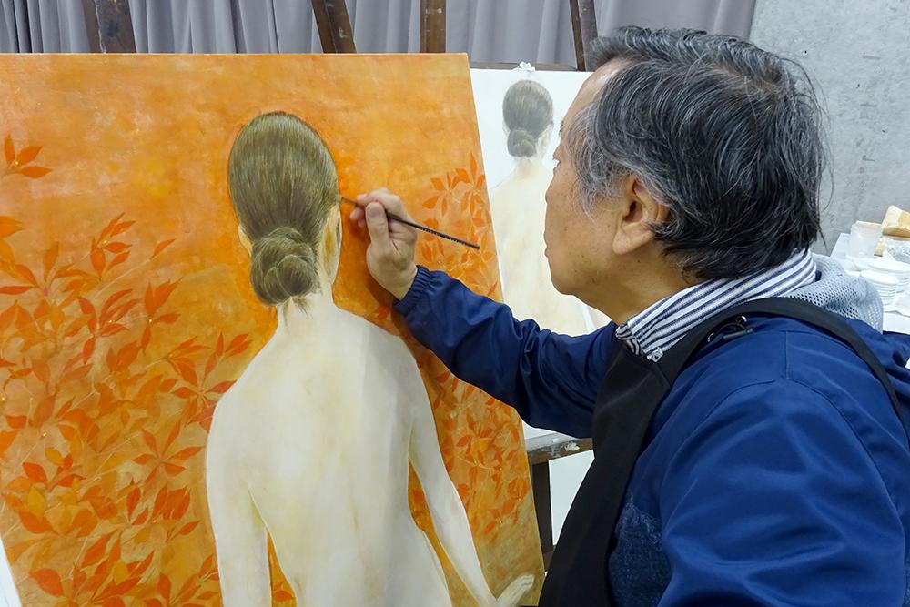 【日本画コース】日本画コースの授業紹介