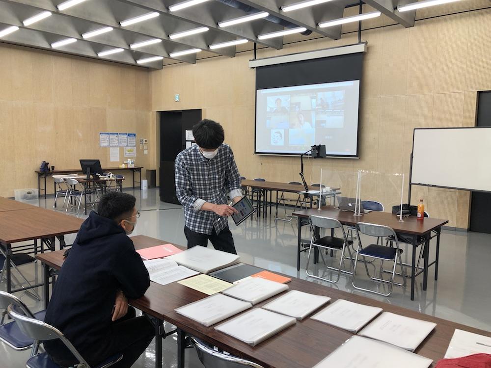 【空間演出デザインコース】自宅学習での疑問を解消する「特別学習支援」開催