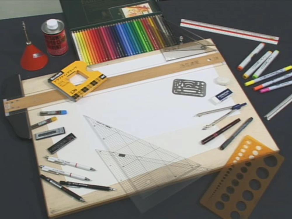 【空間演習デザインコース】空デおなじみの道具たち その1(作図編)